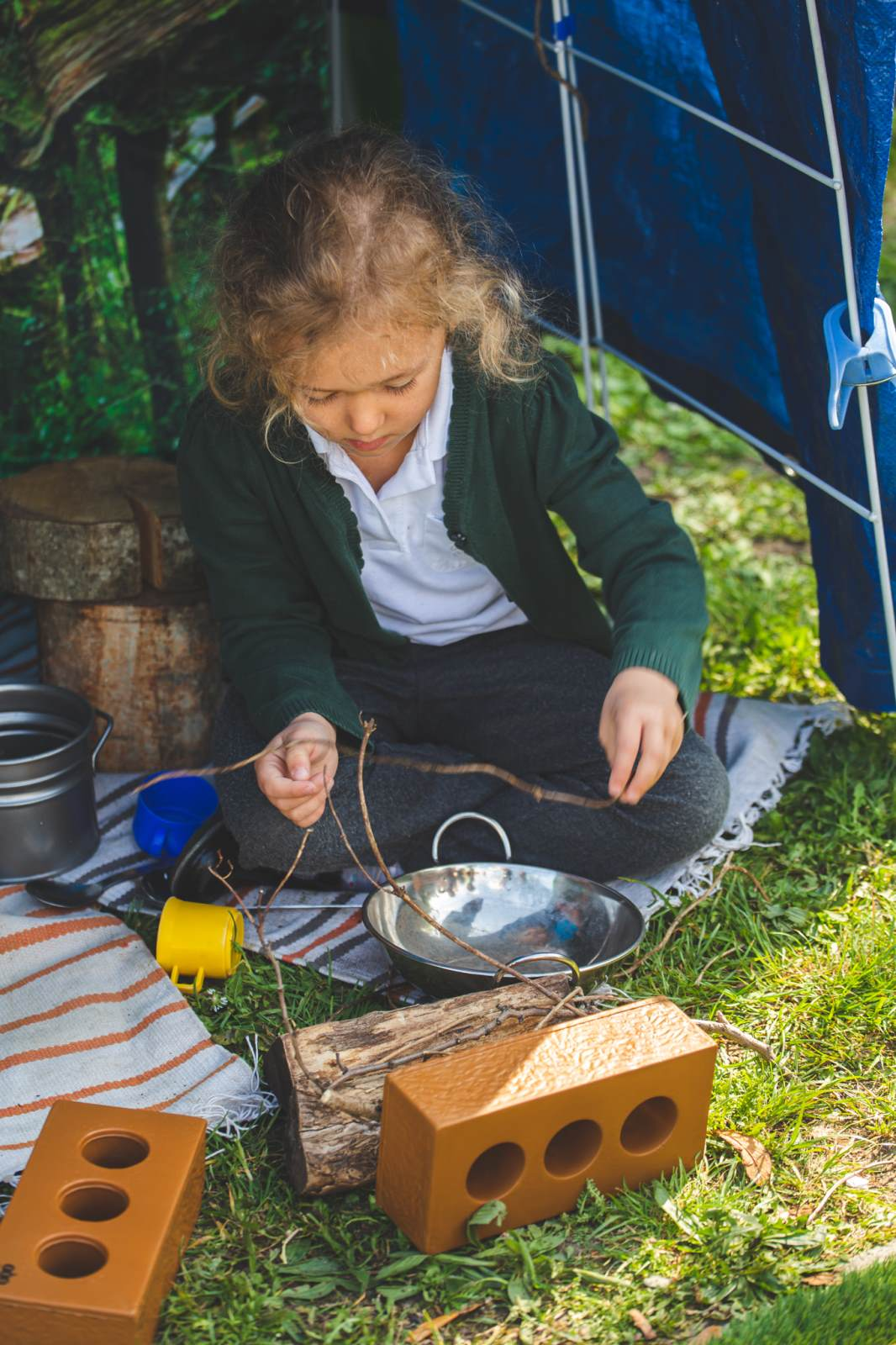 Camping_in_the_Reception_play_area