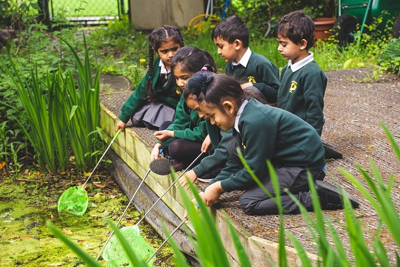 Pond_dipping_in_the_Nature_Garden